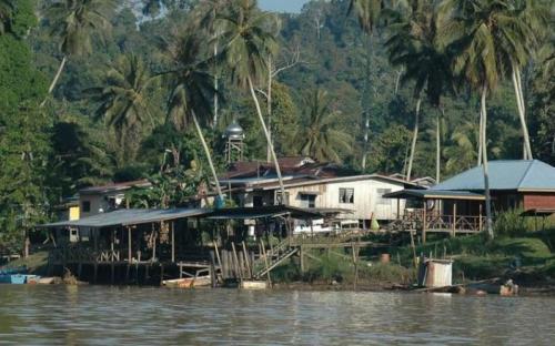 Sukau Village © HUTAN