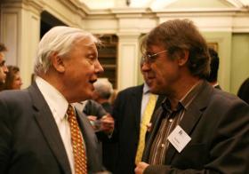 David Attenborough and John Burton