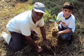 Ranger Antonio helps protect a nature reserve in Brazil's Atlantic Rainforest