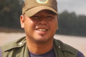 Ranger Berjaya Elahan helps protect Orang-utans