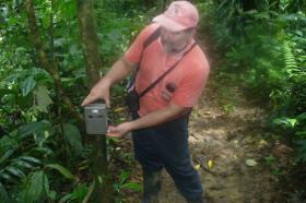 Ranger Galo Vélez helps protect a nature reserve in Ecuador