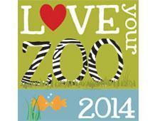 Love Your Zoo logo.