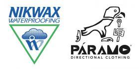 Nikwax and Páramo logos
