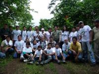 Tree planting volunteers